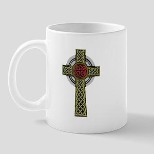 Celtic Knot Cross Mug