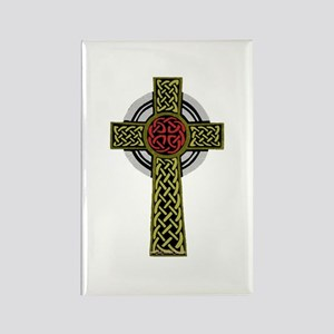 Celtic Knot Cross Rectangle Magnet