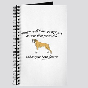 Boxer Pawprints Journal