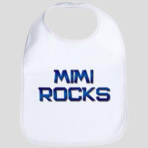 mimi rocks Bib