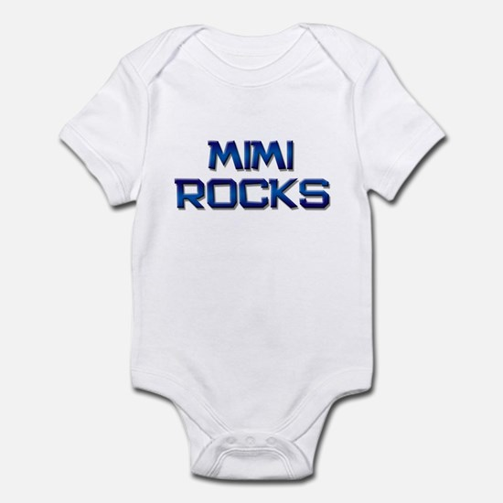 mimi rocks Infant Bodysuit