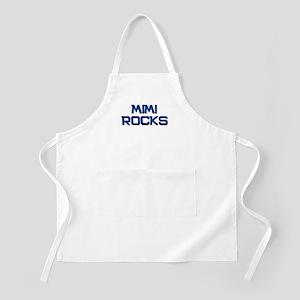 mimi rocks BBQ Apron