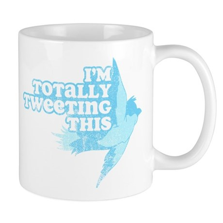 Tweeting This Twitter Mug