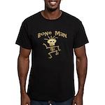 Bone Man Men's Fitted T-Shirt (dark)