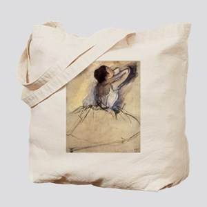 The Dancer by Edgar Degas Tote Bag