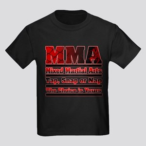 MMA - Mixed Martial Arts Kids Dark T-Shirt