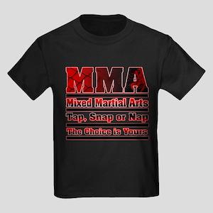 MMA - Mixed Martial Arts Kids Dark T-Shirt