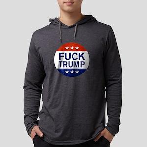 Fuck Trump Long Sleeve T-Shirt