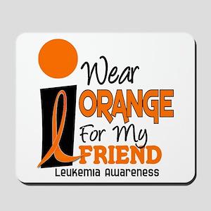 I Wear Orange For My Friend 9 Leuk Mousepad