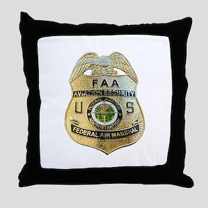 Air Marshal Throw Pillow