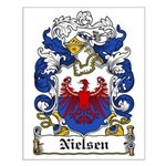 Nielsen Coat of Arms Small Poster