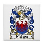 Nielsen Coat of Arms Tile Coaster