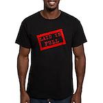 laid in full Men's Fitted T-Shirt (dark)