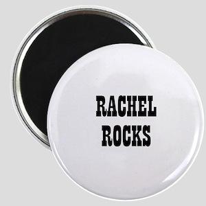 RACHEL ROCKS Magnet