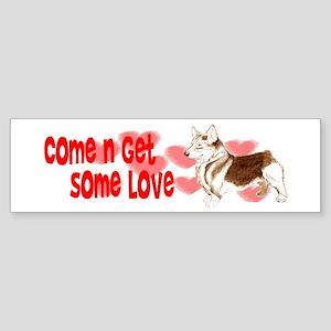 corgi Bumper Sticker
