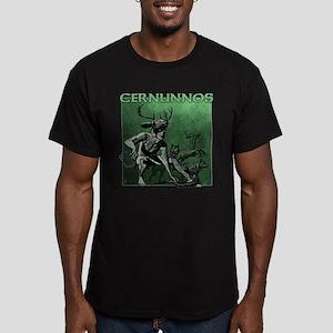 Cernunnos Men's Fitted T-Shirt (dark)