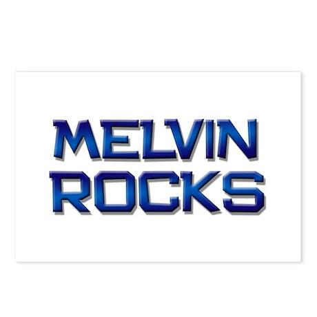 melvin rocks Postcards (Package of 8)