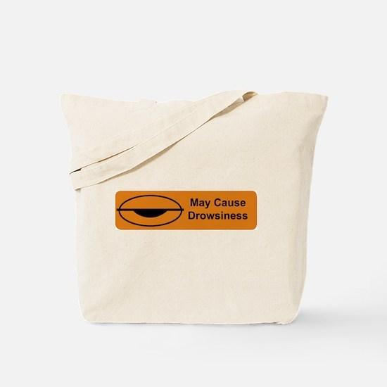 Drowsiness Tote Bag