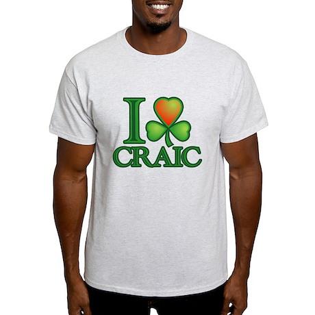 I Love Craic Light T-Shirt