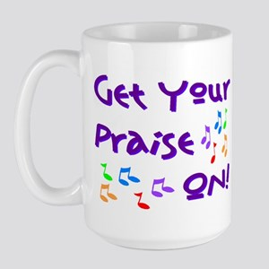 Christian Music Large Mug