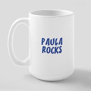PAULA ROCKS Large Mug