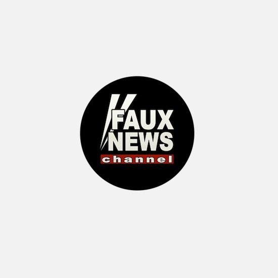Faux News Mini Button