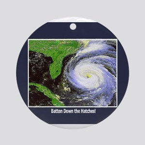 Hurricane Ornament (Round)