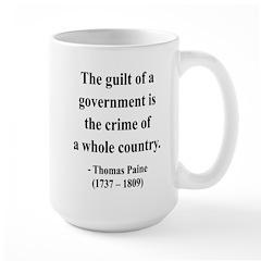 Thomas Paine 14 Large Mug
