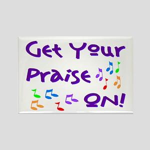 Christian Music Rectangle Magnet