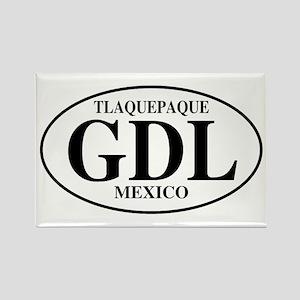 GDL Tlaquepaque Rectangle Magnet