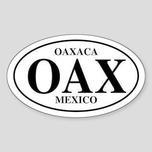 OAX Oaxaca Oval Sticker
