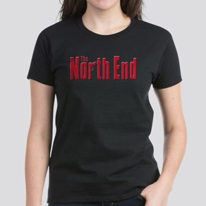 North End Boston,MA Women's Dark T-Shirt