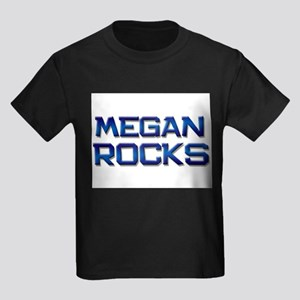 megan rocks Kids Dark T-Shirt