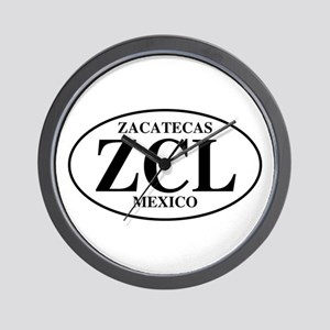 ZCL Zacatecas Wall Clock