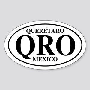 QRO Queretaro Oval Sticker