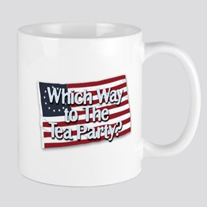 Which Way to The Tea Party? Mug