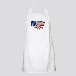 Proud Dad of 2 US Army Soldiers BBQ Apron