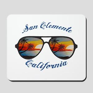 California - San Clemente Mousepad
