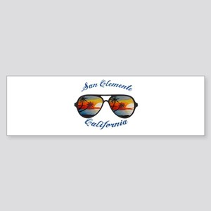 California - San Clemente Bumper Sticker