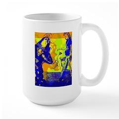 Robot man Large Mug