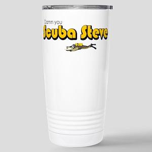 Scuba Steve Stainless Steel Travel Mug