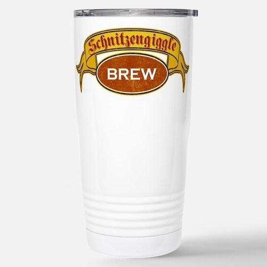 Schnitzengiggle Stainless Steel Travel Mug