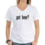got beer? Women's V-Neck T-Shirt