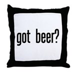 got beer? Throw Pillow