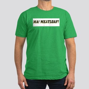Ma! Meatloaf! Men's Fitted T-Shirt (dark)