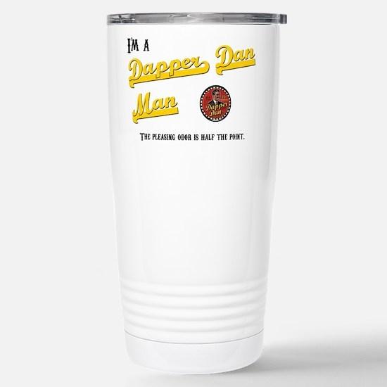 Dapper Dan Stainless Steel Travel Mug