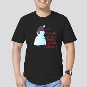 I Smell Carrots Men's Fitted T-Shirt (dark)