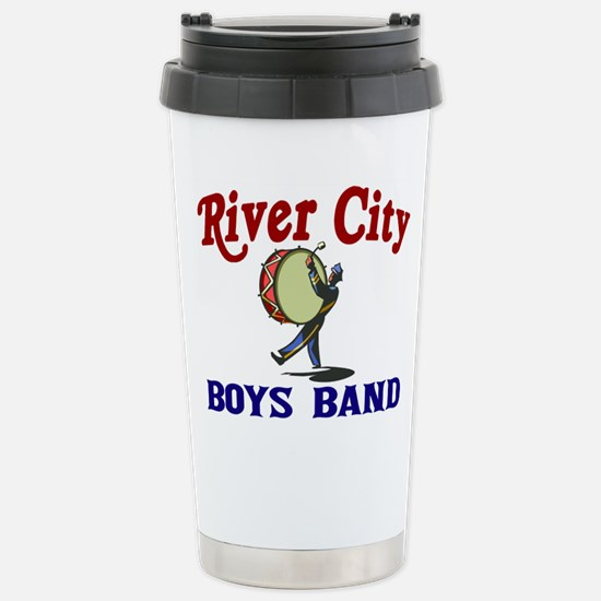 River City Boys Band Stainless Steel Travel Mug