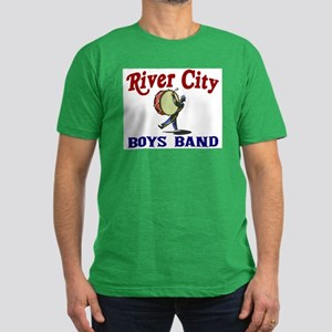 River City Boys Band Men's Fitted T-Shirt (dark)