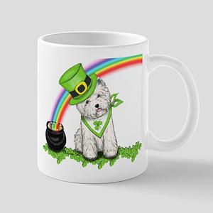 Shamrock Westie Mug